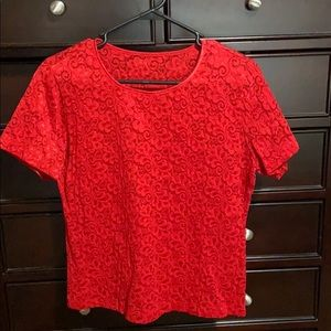 Women's Pullover Top. EUC